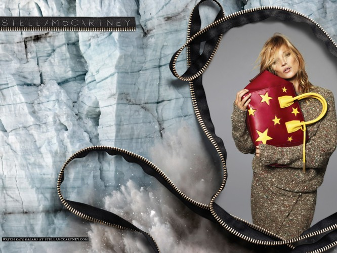 Kate Moss In Stella McCartney's AW14 Ad Campaign
