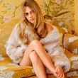Cara Delevingne stars in the campaign for Topshop AW14