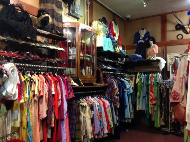 Retro clothing store. Online clothing stores