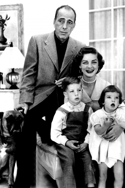 The gallery for lauren bacall and children for Lauren bacall married to humphrey bogart