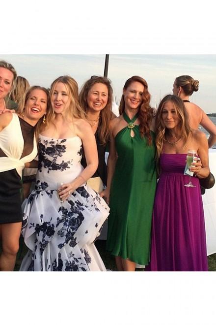 Sarah Jessica Parker Melinda Relyea Wedding