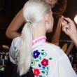 New York Fashion Week ponytails
