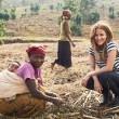 Caroline Flack in Rwanda