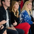 Abbey Clancy on the front row at London Fashion Week SS15