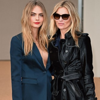 Cara Delvingne And Kate Moss