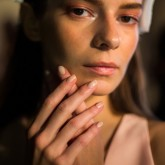 London Fashion Week SS15: nude nails