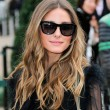Olivia Palermo with brown hair