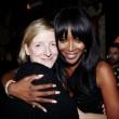 Sarah Burton & Naomi Campbell