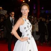 Jennifer Lawrence in Dior dress