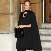 Poppy Delevingne Wearing A Cape