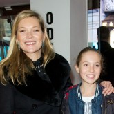 Kate Moss and Lilah Grace at Paddington premiere