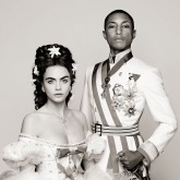 Cara Delevingne and Pharrell Williams in Chanel campaign