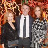 Stella McCartney, Stteve Coogan, Kylie Minogue