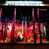 The Christmas Windows at Harvey Nichols