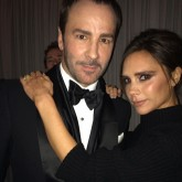 Tom Ford and Victoria Beckham at British Fashion Awards