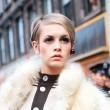 Twiggy in 1960s London