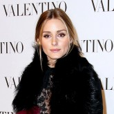 Olivia Palermo at Valentino Couture show