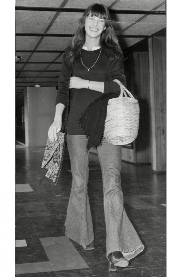 yves saint laurent tote - 27 Times Jane Birkin Inspired Our Wardrobes | Marie Claire
