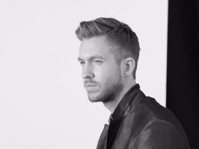 CALVIN HARRIS For Emporio Armani SS15 In One Word: Woah | Marie Claire