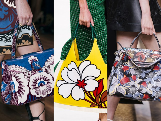 Fendi Spring Summer 2015 Bags Fendi Spring 2015 Fashion