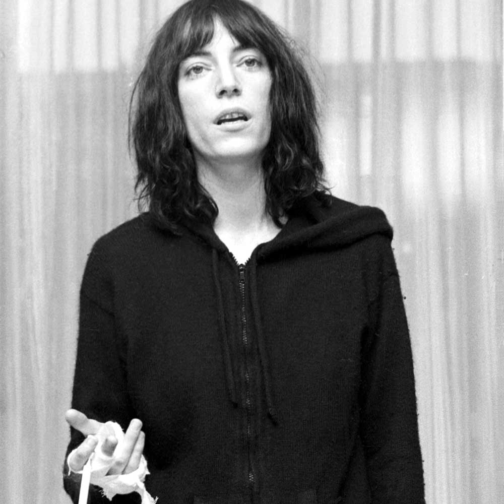 patti smith life story marie claire