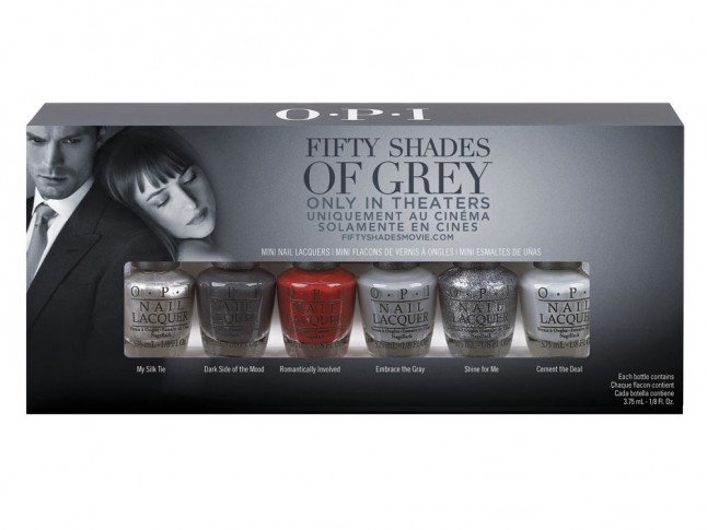 Fifty Shades Of Grey Opi Nail Collection Is Out Now