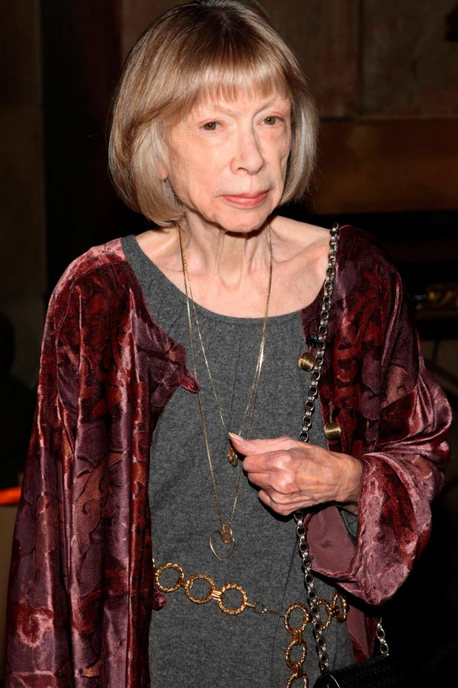 Joan didion wedding