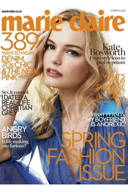 Kate Bosworth Marie Claire 2015 Cover interview