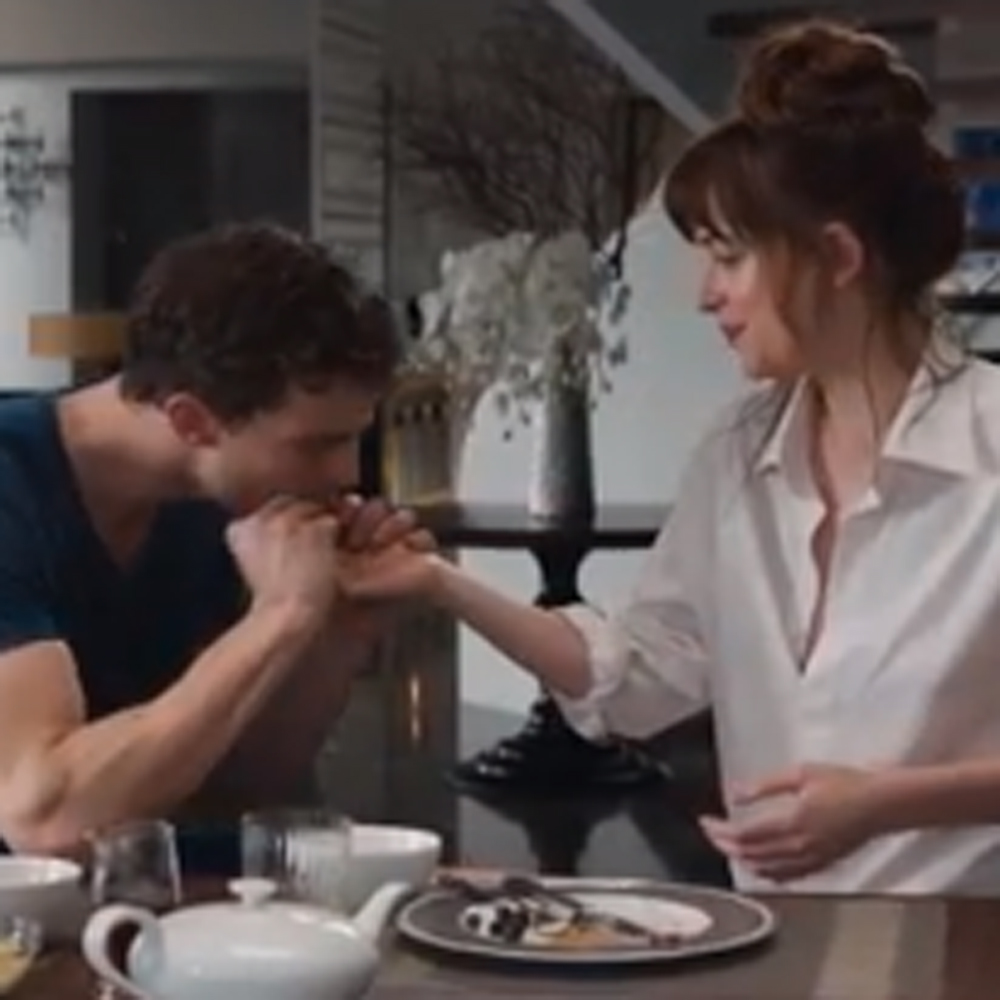 Fifty Shades Of Grey Movie Trailer Inside Christian Grey