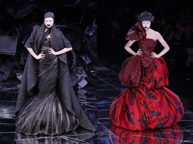 Alexander McQueen Womens ready to wear show Spring