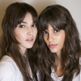 Photo of models using eye creams
