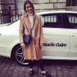 Hannah Lewis with Mercedes Benz at London Fashion Week AW15
