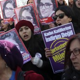Women protest in Turkey