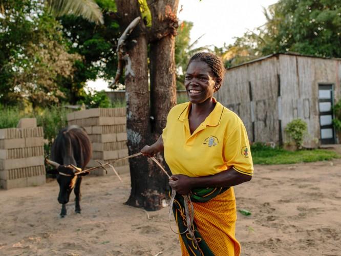 Celeste in Mozambique