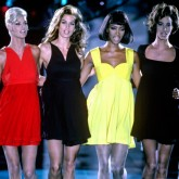 Supermodels on the catwalk