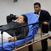 A female patient in a Venezuelan hospital, 2014