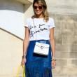 Slogan Tee Shirts At Paris Fashion Week