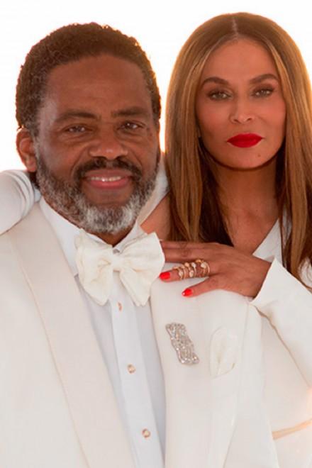 Tina and Richard Lawson's wedding