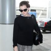 Emma Watson at the airport