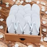 Havaiana wedding flip flops
