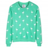 Zoe Karssen Flamingo Print Sweater