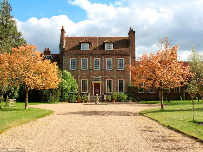 lady violet crawley 39 s downton abbey house is up for sale
