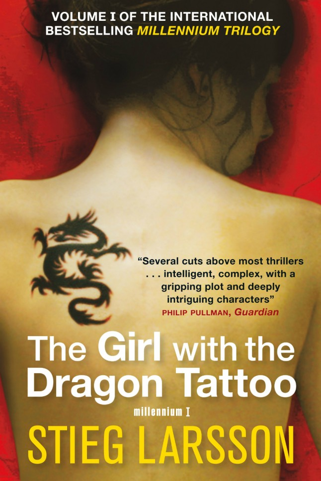 Books for the boys that we love too marie claire for The girl with the dragon tattoo books