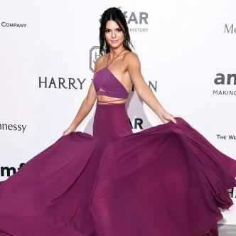 Kendall Jenner at Cannes Film Festival 2015: amfAR Gala