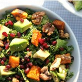 Naturally Sassy kale salad T