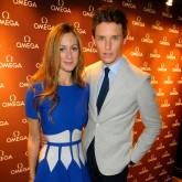 Eddie and Hannah Redmayne at Omega VIP Dinner