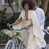 Solange Knowles Wedding Dress