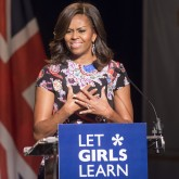 Michelle Obama in London