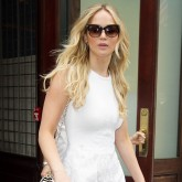 Jennifer Lawrence in New York