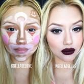 BellaDeLune clown contouring